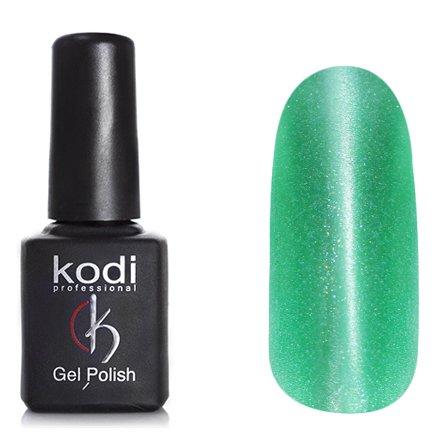 Kodi, Гель-лак Кошачий глаз № 746 (8ml)Kodi Professional <br>Магнитный гель-лактравянисто-зеленый, перламутровый, с микроблестками, плотный, 8мл.<br>
