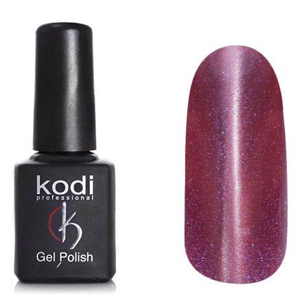 Kodi, Гель-лак Кошачий глаз № 750 (8ml)Kodi Professional <br>Магнитный гель-лак дымчато-баклажановый, перламутровый, с синими микроблестками, плотный, 8мл.<br>