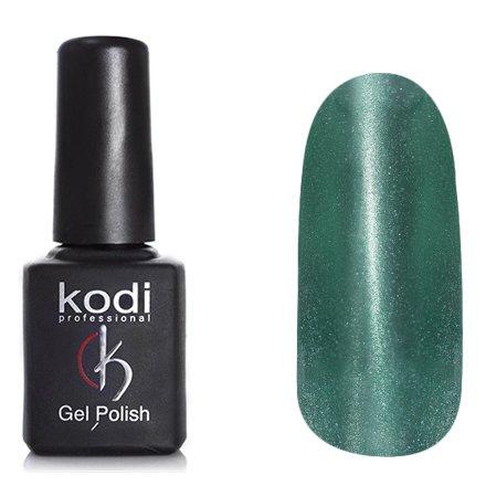 Kodi, Гель-лак Кошачий глаз № 707 (8ml)Kodi Professional <br>Магнитный гель-лакмалахитово-зеленый, перламутровый, плотный, 8мл.<br>