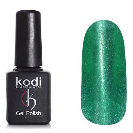 Kodi, Гель-лак Кошачий глаз № 737 (8ml)Kodi Professional <br>Магнитный гель-лак зеленый, перламутровый, с блестками, плотный, 8мл.<br>