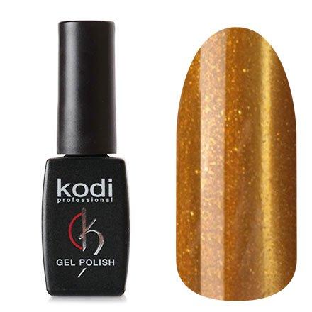 Kodi, Гель-лак Кошачий глаз № 744 (8ml)Kodi Professional <br>Магнитный гель-лак горчичного цвета, перламутровый, с блестками, плотный, 8мл.<br>