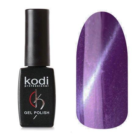 Kodi, Гель-лак Кошачий глаз № 729 (8ml)Kodi Professional <br>Магнитный гель-лак фиолетовый, перламутровый, плотный, 8мл.<br>