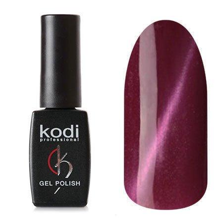Kodi, Гель-лак Кошачий глаз № 735 (8ml)Kodi Professional <br>Магнитный гель-лак свливового цвета, перламутровый, плотный, 8мл.<br>