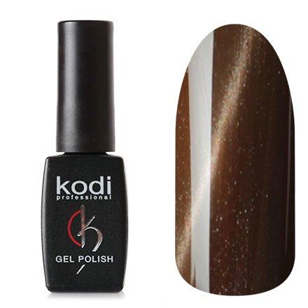 Kodi, Гель-лак Кошачий глаз № 708 (8ml)Kodi Professional <br>Магнитный гель-лак цвета кофе с молоком, перламутровый, плотный, 8мл.<br>