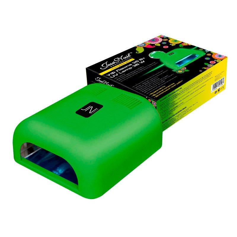 Jessnail, УФ лампа 36 Вт (зеленая, матовая)