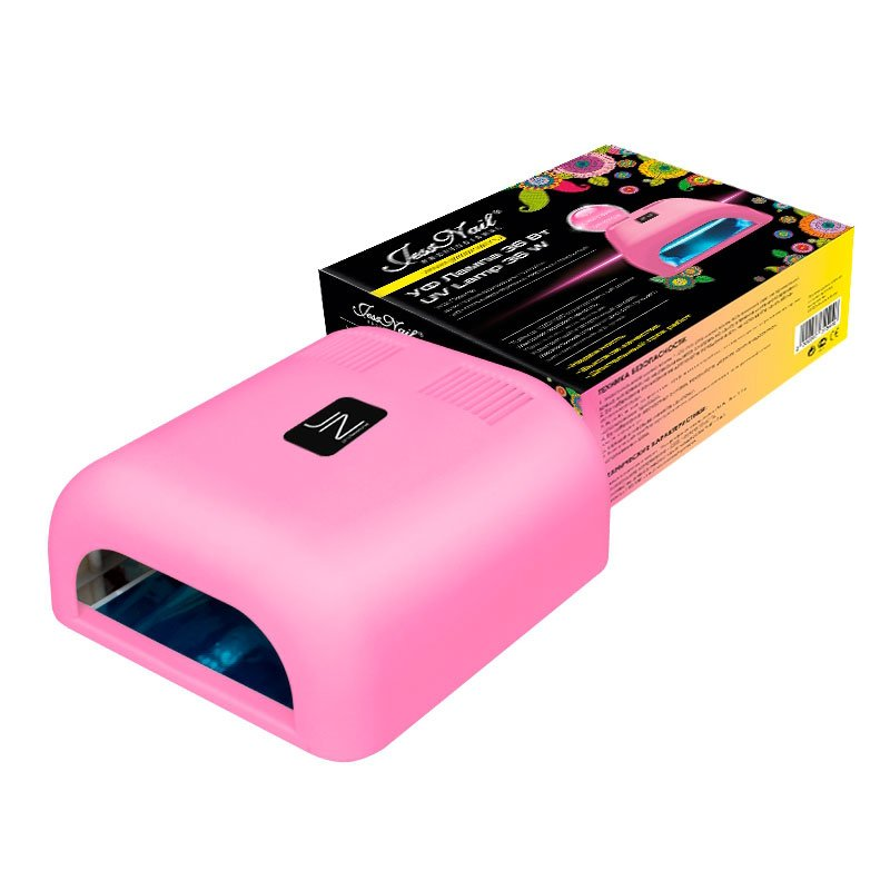 Jessnail, УФ лампа 36 Вт (светло-розовая, матовая)УФ-Лампы<br>Профессиональная ультрафиолетовая лампа мощностью 36 Ватт.<br>