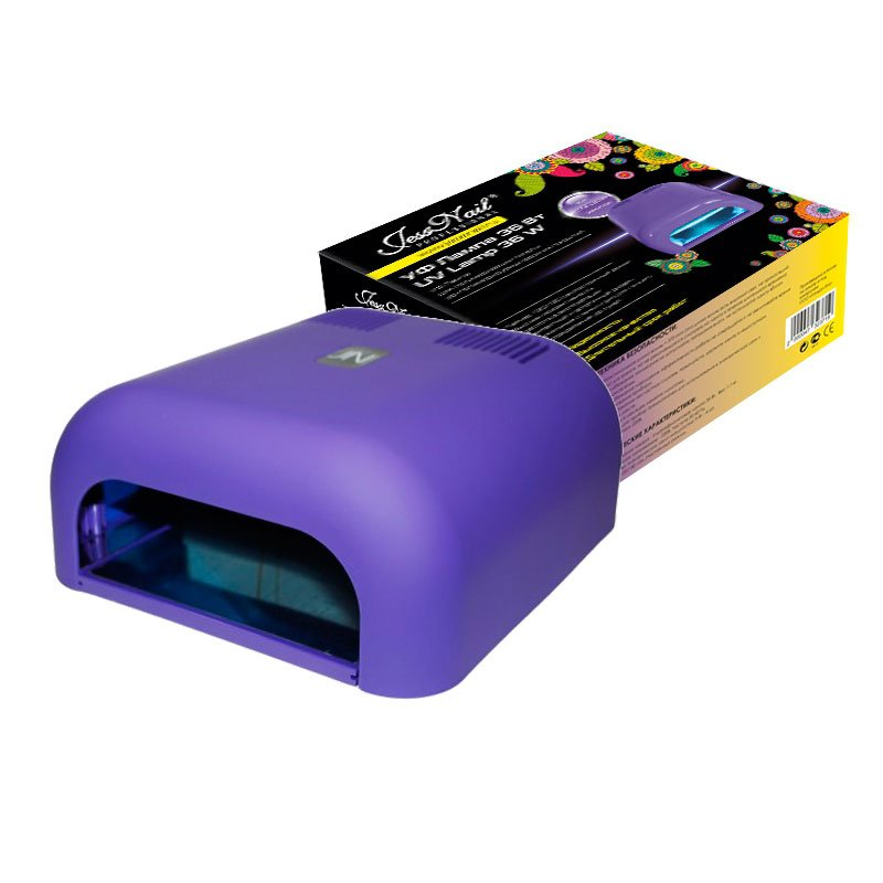 Jessnail, УФ лампа 36 Вт (фиолетовая, матовая)