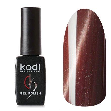 Kodi, Гель-лак Кошачий глаз № 706 (8ml)Kodi Professional <br>Магнитный гель-лак коричнево-красный, перламутровый, плотный, 8мл.<br>