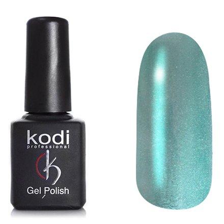 Kodi, Гель-лак Кошачий глаз № 722 (8ml)Kodi Professional <br>Магнитный гель-лаксветлый серо-бирюзовый, перламутровый, плотный, 8мл.<br>