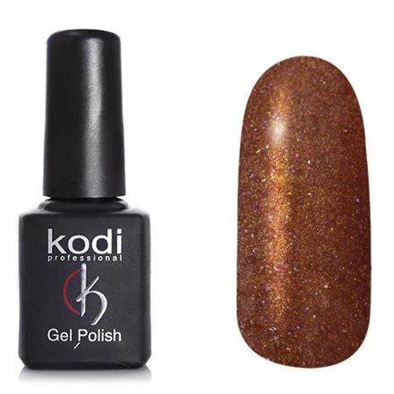 Kodi, Гель-лак Кошачий глаз № 743 (8ml)Kodi Professional <br>Магнитный гель-лак медный, перламутровый, с золотистым шиммером, плотный, 8мл.<br>