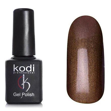 Kodi, Гель-лак Кошачий глаз № 736 (8ml)Kodi Professional <br>Магнитный гель-лак цвета молочный шоколад, перламутровый, с золотистым шиммером, плотный, 8мл.<br>