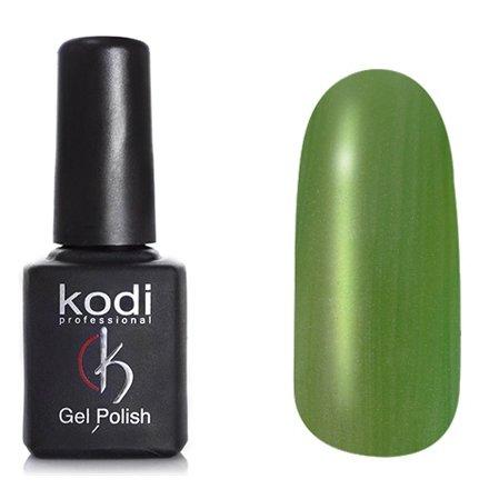 Kodi, Гель-лак Кошачий глаз № 711 (8ml)Kodi Professional <br>Магнитный гель-лак серовато-зелелый, перламутровый, с микро-шиммером, плотный, 8мл.<br>