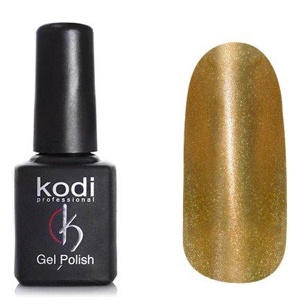 Kodi, Гель-лак Кошачий глаз № 745 (8ml)Kodi Professional <br>Магнитный гель-лак оранжевый, перламутровый с золотистыми блестками, плотный, 8мл.<br>
