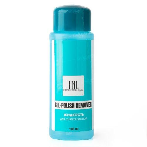 TNL, Жидкость для снятия гель-лака и биогеля (100 мл.)TNL Professional <br>Жидкость для снятия био-гелялегко и быстро удаляет био-гель, не прибегая к процедуре опиливания.<br>