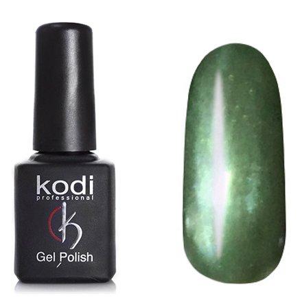 Kodi, Гель-лак Кошачий глаз № 731 (8ml)Kodi Professional <br>Магнитный гель-лак жемчужно-зеленый, перламутровый, плотный, 8мл.<br>