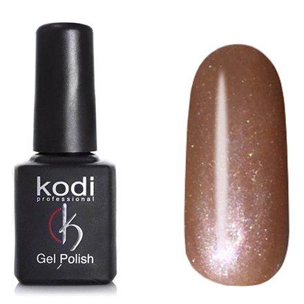 Kodi, Гель-лак Кошачий глаз № 727 (8ml)Kodi Professional <br>Магнитный гель-лак жемчужно-рыжий, перламутровый, плотный, 8мл.<br>