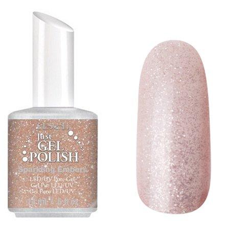 56579 Sparkling Embers, IBDIBD Just Gel<br>Розовый с блестками<br>