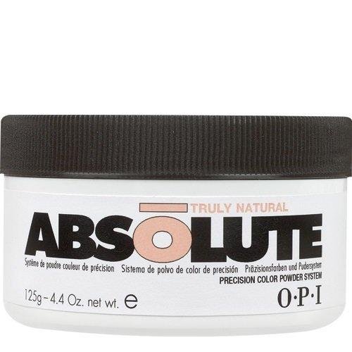 OPI Absolute, Truly natural powder 125гOPI Absolute<br>Профессиональная акриловая пудра для моделирования ногтей, кремовый натуральный оттенок<br>
