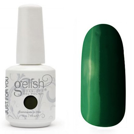 01545 Commander In Chic Harmony GelishHarmony Gelish<br>Классический бархатисто-кремовый болотно-зеленый, плотный<br>